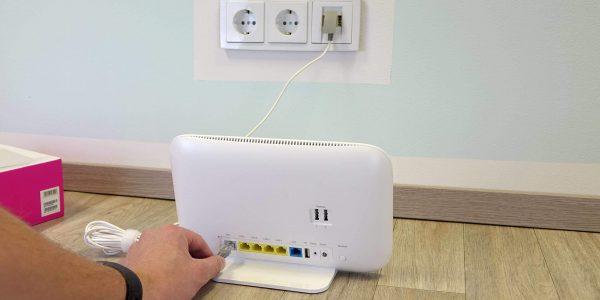 Speedport Smart DSL-Kabel