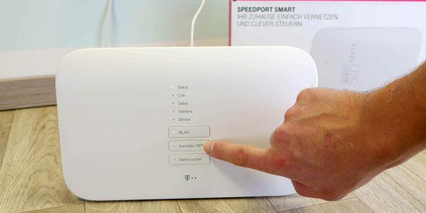 Schnurlostelfone an Speedport Smart