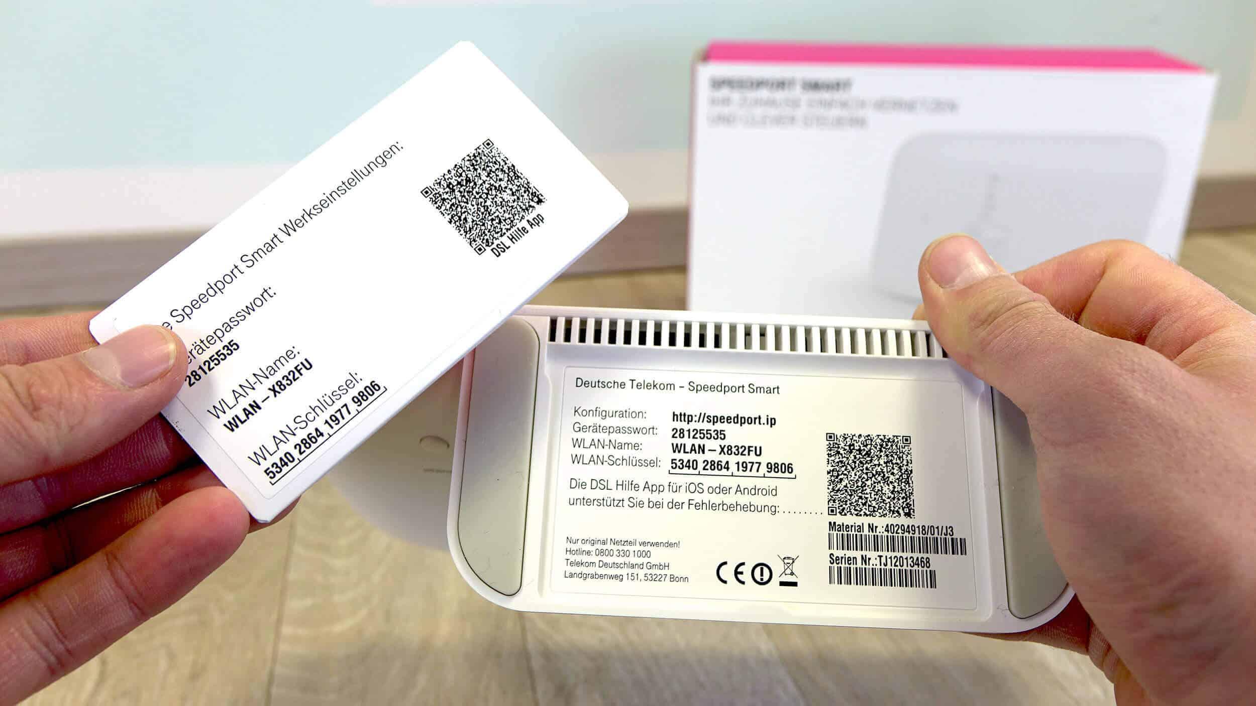 Speedport Smart Einrichten Telekom Router Anschließen So Gehts