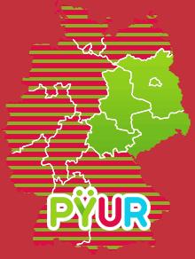 PYUR Verfügbarkeit Karte