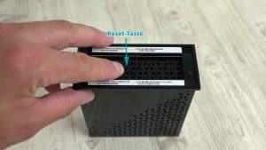 N300 Reset-Taste