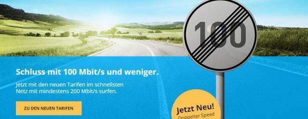 Deutsche Glasfaser: Gratis doppelter Speed bei DG basic 200