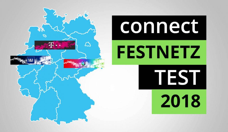 Connect Festnetz-Test 2018