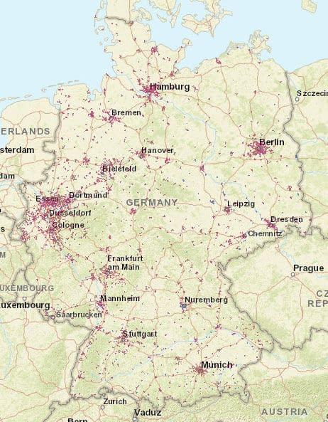 Deutschland 5g Karte