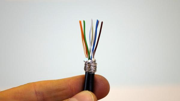Netzwerkkabel Abschirmung