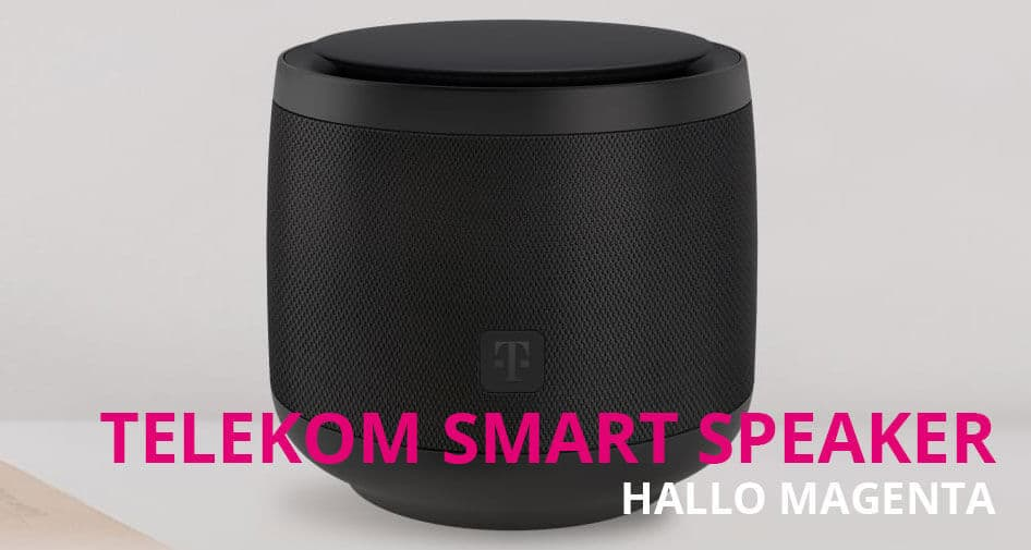 Telekom Smart Speaker: Magenta Sprachassistent