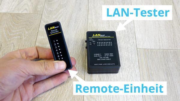 LAN-Tester: Kabeltest für Netzwerkkabel