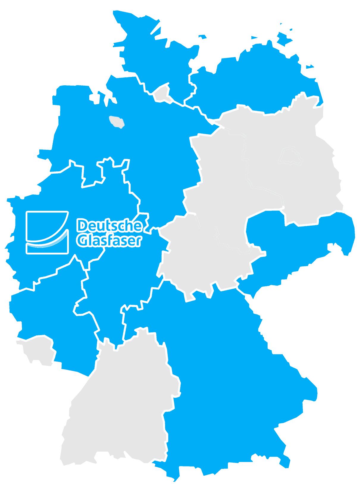 glasfaserausbau deutschland karte Deutsche Glasfaser: Geschwindigkeit, Verfügbarkeit und Glasfaser