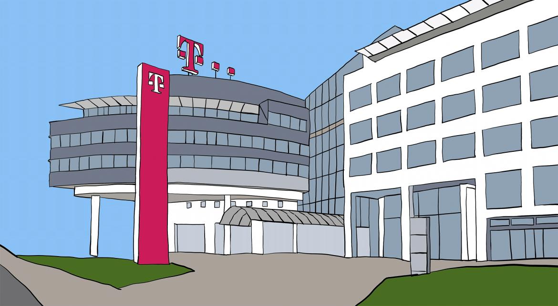 Telekom Zentrale Zeichnung