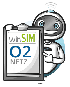 WinSIM nutzt das o2-Netz