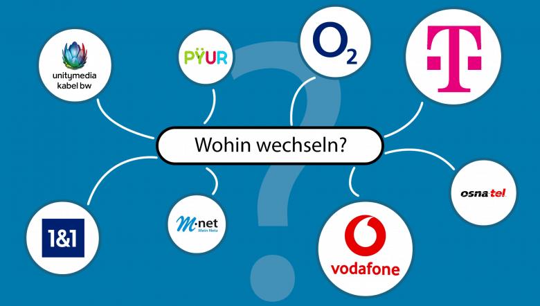 Internetanbieter wechseln - die Qual der Wahl