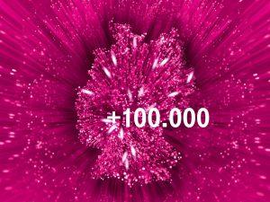 Telekom Netz-Ausbau mit VDSL für 100.000 Haushalte