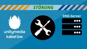 Unitymedia Störung wegen DNS-Server Wartungsarbeiten