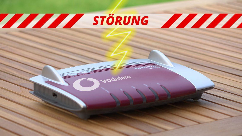 Vodafone Störung wegen Router