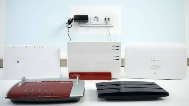 WLAN-Router - Verschiedene Modelle