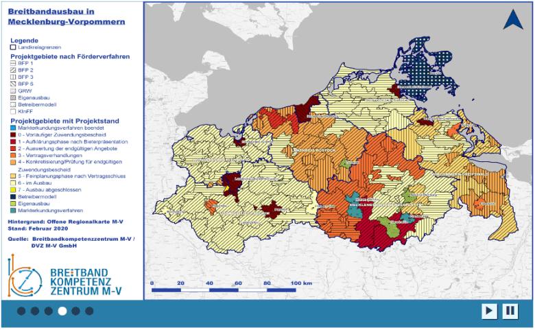 Breitbandausbau Mecklenburg-Vorpommern (Schnelles Internet)