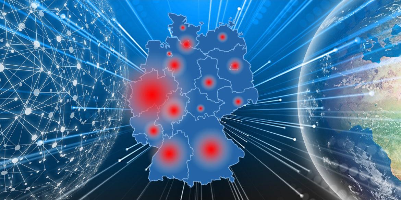 Coronavirus Internet-Traffic in Deutschland- Kommt der Ausfall?