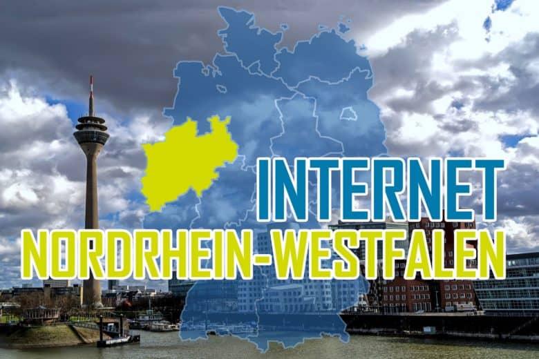 Internet in Nordrhein-Westfalen - Anbieter & Breitbandausbau
