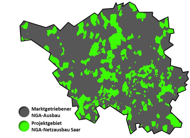 NGA-Netzausbau in Saarland