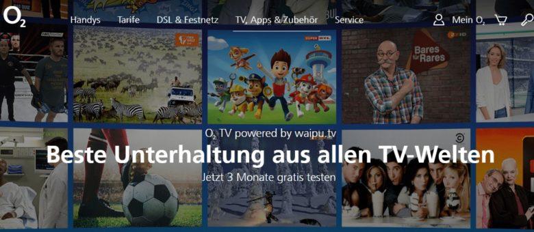 o2 DSL-Angebot und TV
