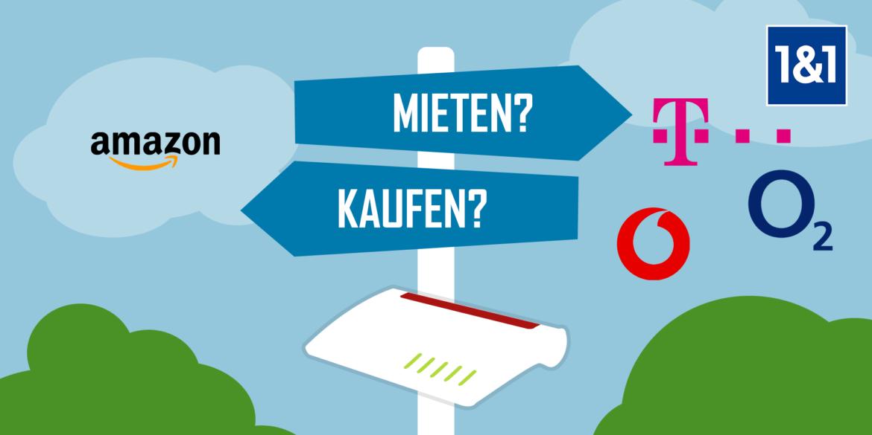 Routermiete: Router mieten oder kaufen?