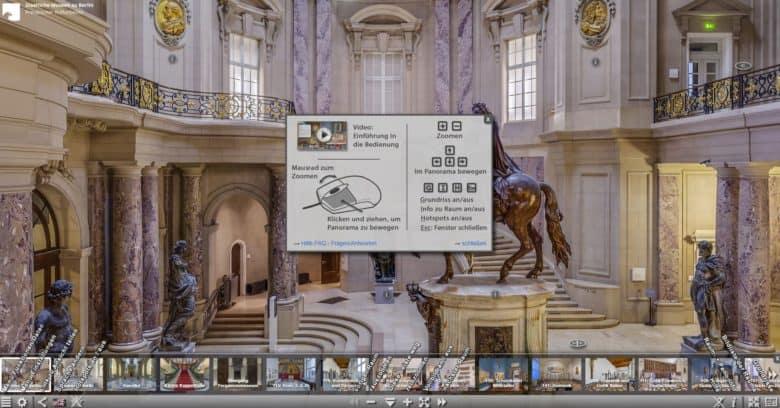 Virtueller Rundgang- Staatliche Museen zu Berlin