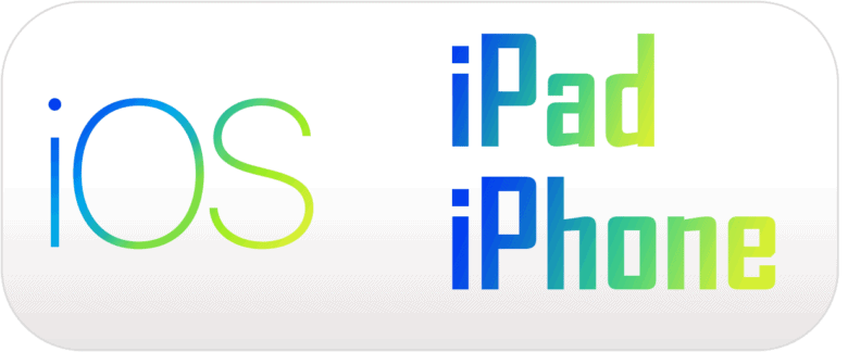 iOS Logo - iPad und iPhone