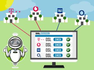 DSL-Verfügbarkeit