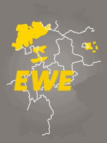 EWE Internet Verfügbarkeit
